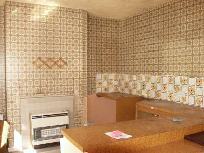 Mmm, so lovely, so 60s, the kitchen of the past