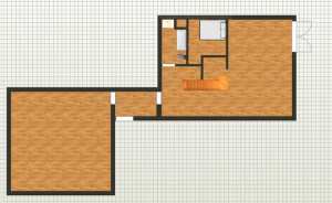 House interior layout